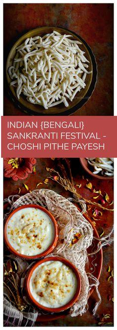 Indian Sankranti festival recipe Chushi pitha / hand rolled pasta like shapes . #bengalifood #bangladeshifood #indiansweets #sankrantirecipes