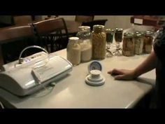 Food Saver and storing crackers and dry goods long term. Food Saver Vacuum Sealer, Food Storage Shelves, Kitchen Reviews, Long Term Food Storage, Electric, Preserving Food, Canning Recipes, Food Hacks, Food Tips