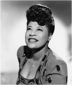 Ella Fitzgerald by photographery Michael Ochs Archives:Getty Images.