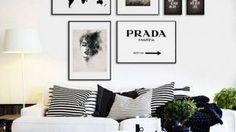 Wonderful Black White Decoration Idea 49