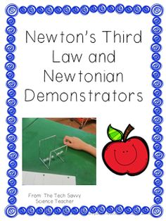 Newton's Third Law and some fun - an activity to go along with Newtonian Demonstrators