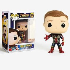 Avengers Infinity War Unmasked Iron Spider Pop Vinyl Coming To Box Lunch Funko Pop Marvel, Marvel Avengers, Funko Pop Spiderman, Marvel Pop Vinyl, Funko Pop Star Wars, Pop Vinyl Figures, Funko Pop Figures, Tom Holland, Avengers