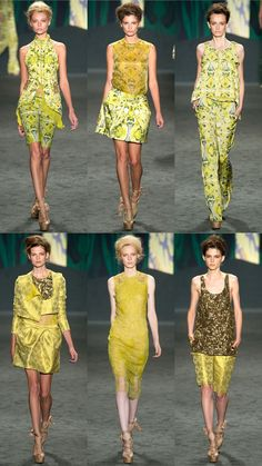 """Vera Wang Spring 2013 Collection 