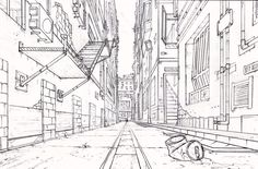 DeviantArt: More Artists Like 1 Point Perspective Practice by Sh3lly