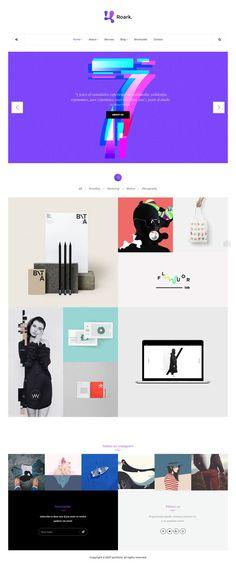 Roark - Minimal Portfolio WordPress Theme