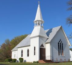 Calvary United Methodist Church, Waldorf, Maryland.  Built 1904.
