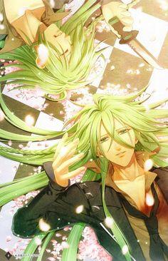 Ukyo (Joker) | Amnesia #anime This Man ... <3_<3