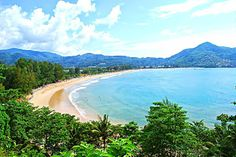 Get to know Kamala Beach in Phuket.  Kamala Beach in Phuket is an amazing beach with clear waters in the peak seasons with a good quantity of beach dining and shopping alternatives, and a number of hotels, some directly with a beach access. A huge path from Patong goes through Kamala, and you might need to drive slow to see the street right at the bottom of the hill.