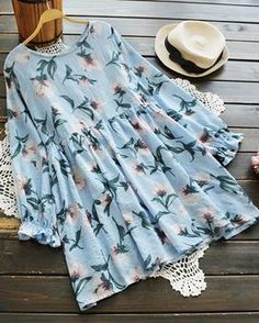Cupshe Lying in Flowers Casual Dress Frock Fashion, Hijab Fashion, Fashion Dresses, Muslim Fashion, Modest Fashion, Pretty Outfits, Cute Outfits, Stylish Dresses For Girls, Kurti Designs Party Wear