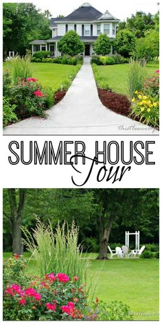 Dreamy Summer Home Tour and best things about Summer list! @Thistlewood Farm
