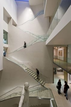 I had a dream that occurred in a place like this. Ashmolean Museum by Rick Mather Architects.