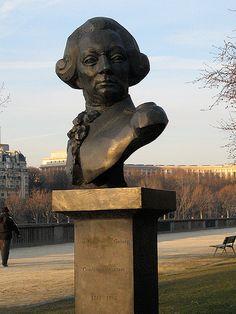 Bust of Jean François de Galaup, Comte de La Pérouse, Paris