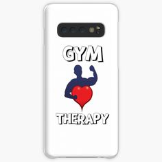 'Gym Therapy & Graphic Design With Big Heart' Case/Skin for Samsung Galaxy by Therapy, Samsung Galaxy, Gym, Graphic Design, Artists, Group, Printed, Heart, Awesome