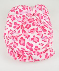 Take a look at this Wild Child Minky Pocket Diaper by MG Baby on #zulily today!