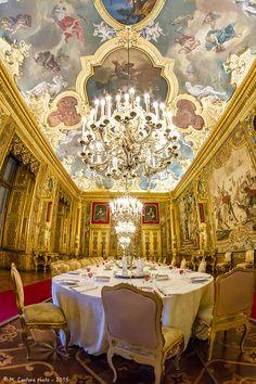 Torino Palazzo Reale: Sala da Pranzo