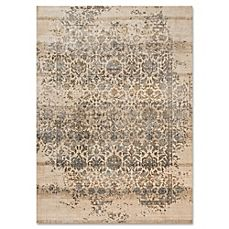 image of Magnolia Home By Joanna Gaines Kivi Rug in Ivory/Quarry