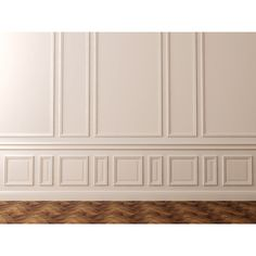 Elevate a Space with Magnificent Moulding and Wood Wall Art found on Polyvore