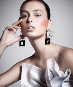 Earrings Oscar de la