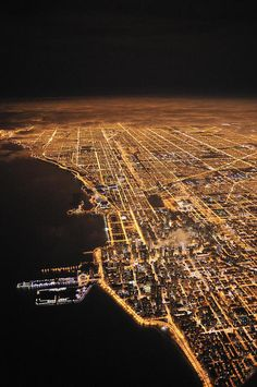 """Chicago pinned as """"Los Angeles - City of Lights"""" by Los Angeles Based Gibson International Luxury  Real Estate"""