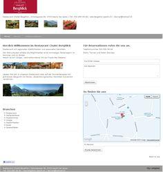 Spezialitäten, Restaurant, Hotel, Chalet, Gartenterasse