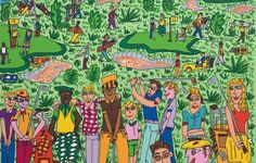 James Rizzi, Different Strokes For Different Folks (Golf)