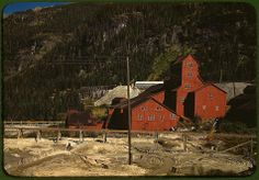 *Mill at the Camp Bird Mine. Ouray County, Colorado, October 1940. Reproduction from color slide. Photo by Russell Lee. Prints and Photographs Division, Library of Congress