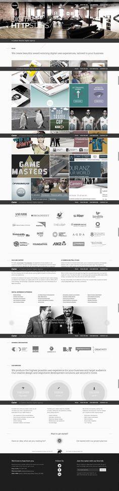 Carter - Web Design #UX Digital Agency, Melbourne, Sydney and Perth.