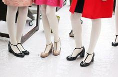 {t-strap shoes} Orla Kiely A/W 2013 fashion show