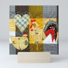 Hen & Rooster in yellow iPad Case Hen House, Hens, Ipad Case, Poultry, Rooster, Art Prints, Yellow, Stuff To Buy, Products