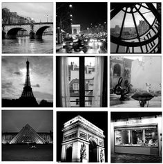 "Paris Black and White Photography Collection Small Photos 5""x5"" Mini Pictures Set of 9 by tommy-turner.artistwebsites.com, http://www.amazon.com/dp/B006JIMKMS/ref=cm_sw_r_pi_dp_Hjhlsb1D9374C"