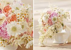 Bouquet Bar: Peonies and Pincushions