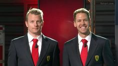 "Vettel:""You combed your hair funny this morning Kimi!"" Raikkonen:""I don't own a comb!"""