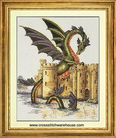 Needlecraft and crossstitch patterns Fantasy Cross Stitch, Water Dragon, Pattern, Painting, Art, Art Background, Patterns, Painting Art, Kunst