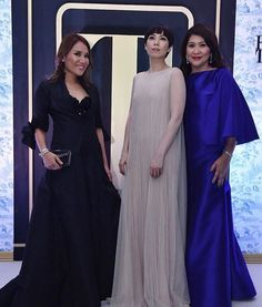 """88 Likes, 19 Comments - Mandy de la Rama Santos (@tartetatin) on Instagram: """"With beauties @monsromulo  @draivee in Inno Sotto.❤️ #innosotto #philtatlerball2016. Thanks for…"""""""