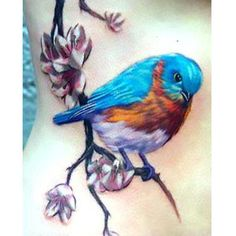Many tattoo ideas for women commonly include filigree, animals, and flowers. These feminine designs accentuate the overall theme of a piece, even if i. Bird Tattoos Arm, Bird Tattoos For Women, Sun Tattoos, Flower Tattoos, Girl Tattoos, Tatoos, Ankle Tattoo, Arm Tattoo, Blue Butterfly Tattoo