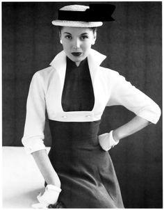 Model Pat Goddard  photo by John French, 1954