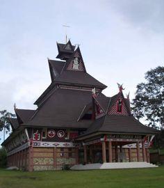 Batak church, North Sumatra, Indonesia