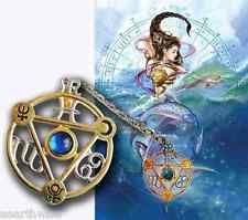 ELEMENTAL WATER TALISMAN PENDANT + CARD & ENVELOPE Wicca