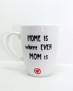 Geschenk Tasse für MAMA kleines Mama Geschenk von Lovely-Cups via dawanda.com