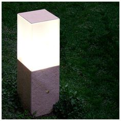 #LED #Lamp #CUBOTTO series by #Mistif, #outdoor use - 20x20x60 Antares Finish #design #interiordesign #homedecor #inspiration #madeinitaly #lightdesign #light