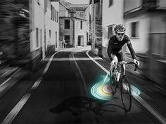 &B-bike beam projector concept by Min keun Kwon