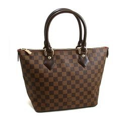 Louis Vuitton Damier Ebene Canvas Saleya PM N51183