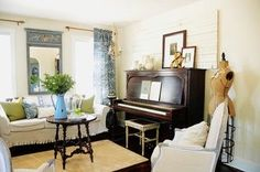 Emily A. Clark: Decorating Around a Piano