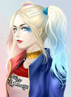 Harley Quinn Drawing, Joker And Harley Quinn, Harley V Rod, Margot Robbie Harley, Harely Quinn, Disney Princess Drawings, Joker Art, Military Girl, Fantasy Girl