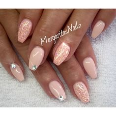Pink Tutu & Peachy by MargaritasNailz from Nail Art Gallery