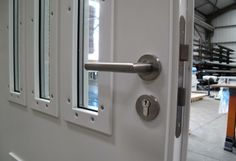 High Security Doors for Additional Safety and Security........... Specialist high security door, made to order to fulfill highly specialized functions, but all equipped with the Metador hallmarks of build quality, style and value. This range includes the acoustic doors, fire-rated doors, bullet-resistant and high-security doors to various security standards.