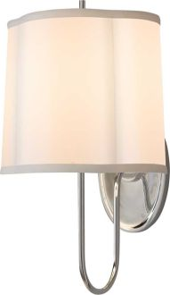 Simple scallop wall sconce - http://www.circalighting.com/details.aspx?pid=1431