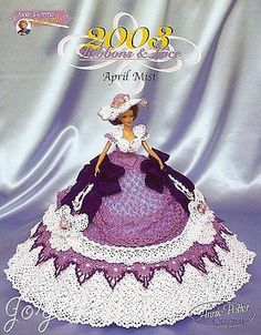 April Mist, Annie's Ribbons & Lace Collection crochet patterns
