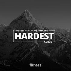 The Best Views Come After the Hardest Climb - Fitnessmagazine.com