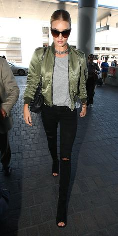 Rosie Huntington-Whiteley's Chic Street Style - September 25, 2015 - from InStyle.com
